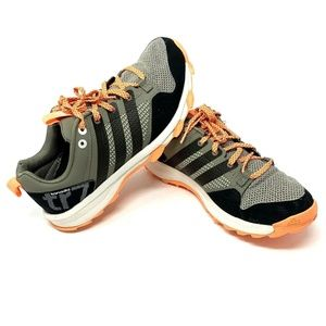 Adidas Kanadia TR 7 Orange Running Shoes Women 7.5